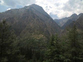 Village town in Parvati Valley, Himachal, India