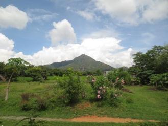The mountain of Arunachala in Tiruvanammalai, Tamil Nadu, India